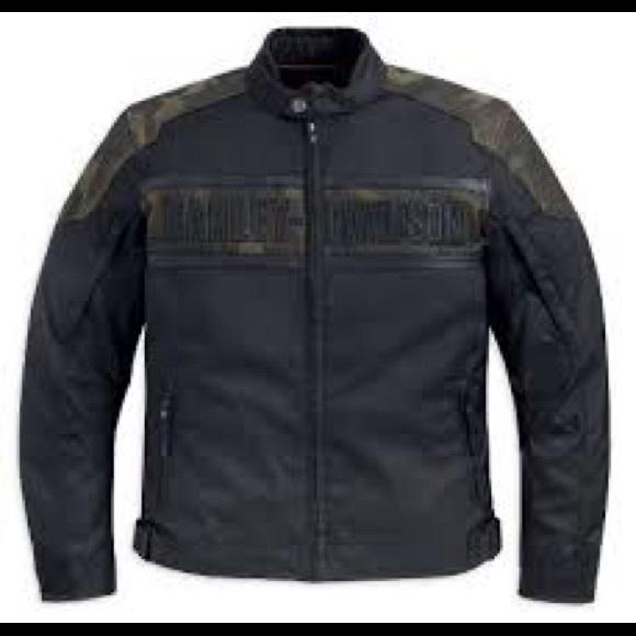 61b65863 Harley-Davidson Other - Harley Davidson nightfall camo leather jacket